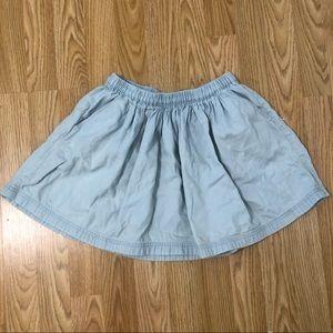 Gap Denim Skirt with Pockets size 8 Girls